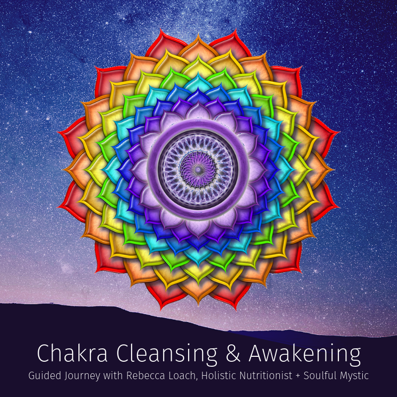 This powerful guided visualization and energy balancing meditation will clear, balance, and awaken each of your 7 major chakras, leaving you feeling more clear, centred and empowered.   Clearing and balancing your chakras can help remove stagnant energy, limiting beliefs, and feelings of unworthiness that are holding you back.  Reconnect with your greatest potential in just 10 minutes!