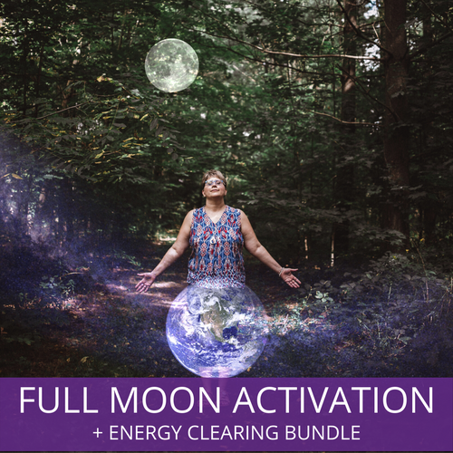 Full Moon Activation + Energy Clearing Bundle