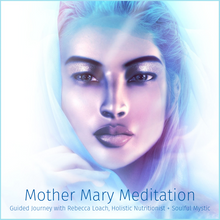 Load image into Gallery viewer, Surround yourself in a cocoon of unconditional love, nurturing, and peace as you awaken your highest potential. Meet Mother Mary and the Archangel Haniel as you enhance your creative potential, strengthen your authentic power, and express your highest truth. Get instant access now.