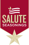Salute Seasonings logo
