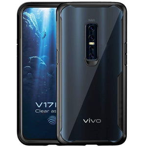 Shockproof silicone protective transparent Case for Vivo V17 pro