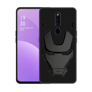 Ironman Engraved silicone Case for Oppo f11 pro