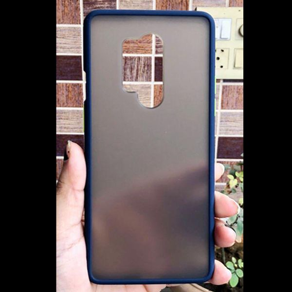 Blue Smoke Silicone Protection case for Oneplus 8 pro