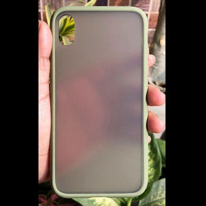Green Smoke Silicone Protection case for Apple iphone Xr