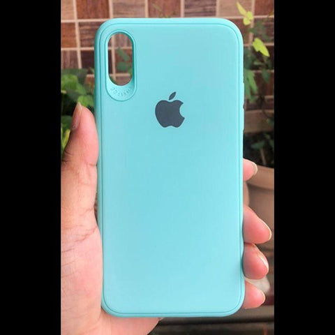 Light Blue Silicone Case for Apple iphone Xr