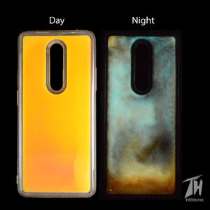 Coral Glow in Dark Silicone Case for Oneplus 7 Pro
