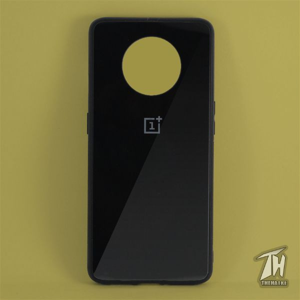 Black mirror Silicone Case for Oneplus 7t.