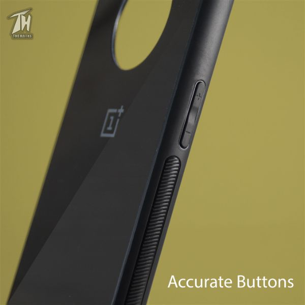 Black mirror Silicone Case for Oneplus 7t