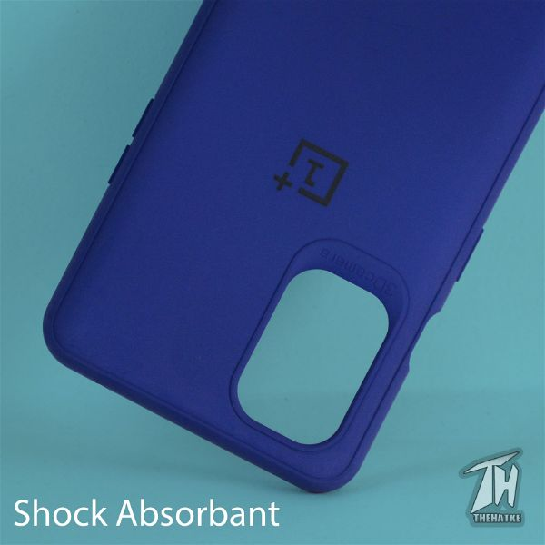 Dark Blue Silicone Case for Oneplus 8t