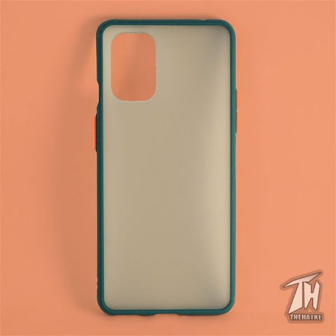 Dark Green Smoke Silicone case for Oneplus 8t