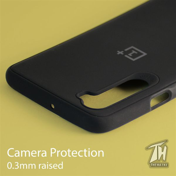 Black Silicone case for Oneplus Nord