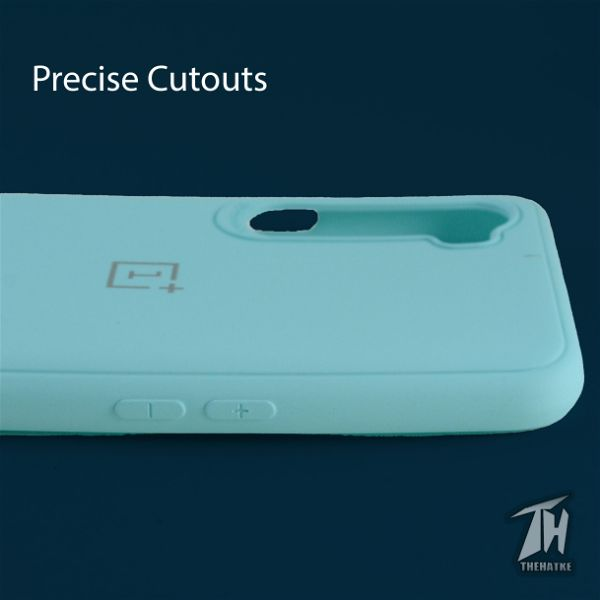 Light Blue Silicone Case for Oneplus Nord