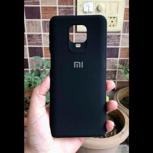 Black Silicone Case for Xiaomi Redmi Note 9 pro max