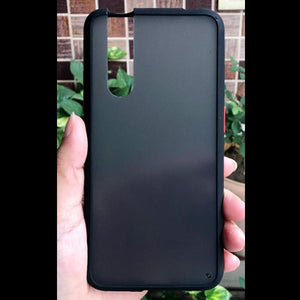 Black Smoke Silicone Protection case for Vivo V15 pro