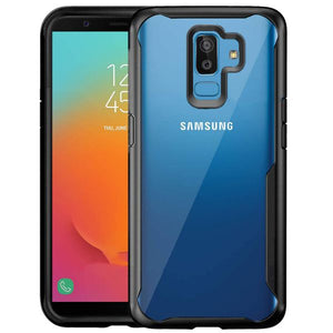 Shockproof protective transparent Silicone Case for Samsung Galaxy J8