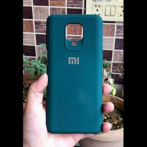 Dark Green Silicone Case for Xiaomi Redmi Note 9 pro max