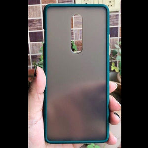 Dark Green Smoke Silicone Protection case for Oneplus 8