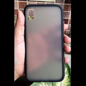 Black Smoke Silicone Protection case for Apple iphone x/xs