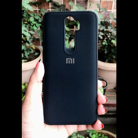Black Silicone Case for Xiaomi Redmi Note 8 pro