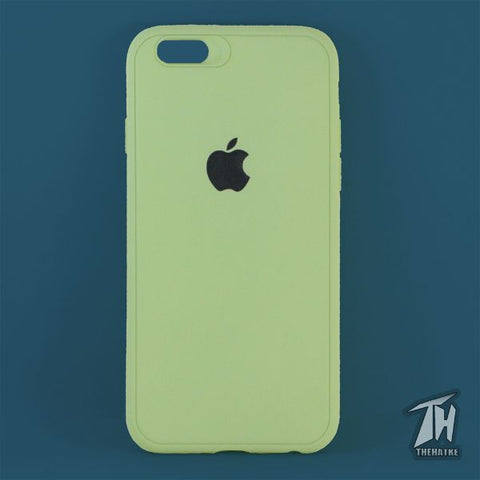 Light Green Silicone Case for Apple iphone 6/6s