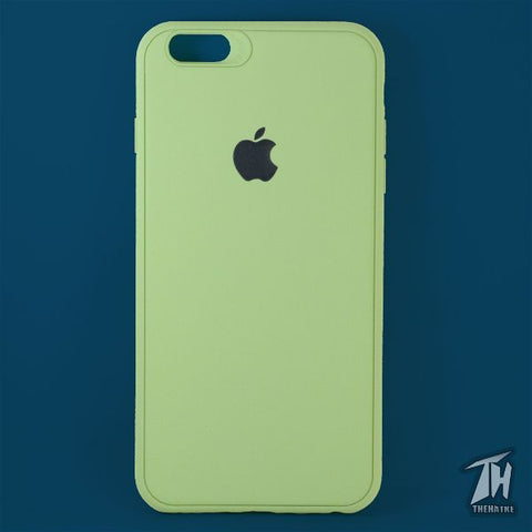 Light Green Silicone Case for Apple iphone 6 plus/6s plus