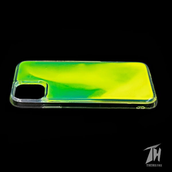 Green Glow in the dark case for Apple iphone 11 pro