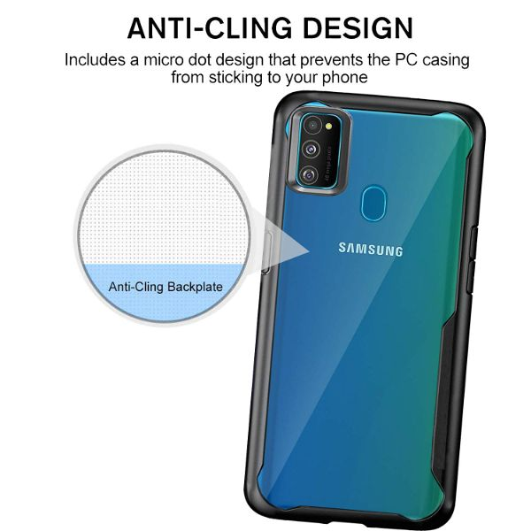 Shockproof transparent protection Silicone case for Samsung M30S