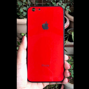 Red mirror Silicone Case for Apple iphone 6/6s