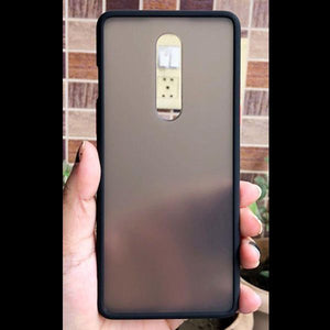 Black Smoke Silicone Protection case for Oneplus 8