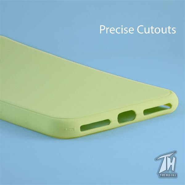Light Green Silicone Case for Apple iphone 7 plus