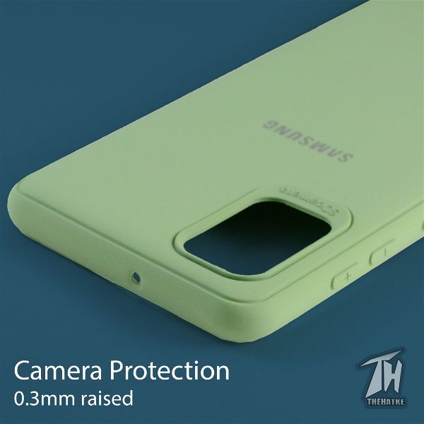 Light Green Silicone Case for Samsung A51