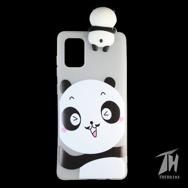 Big Panda 3D Silicone Case for Samsung A71