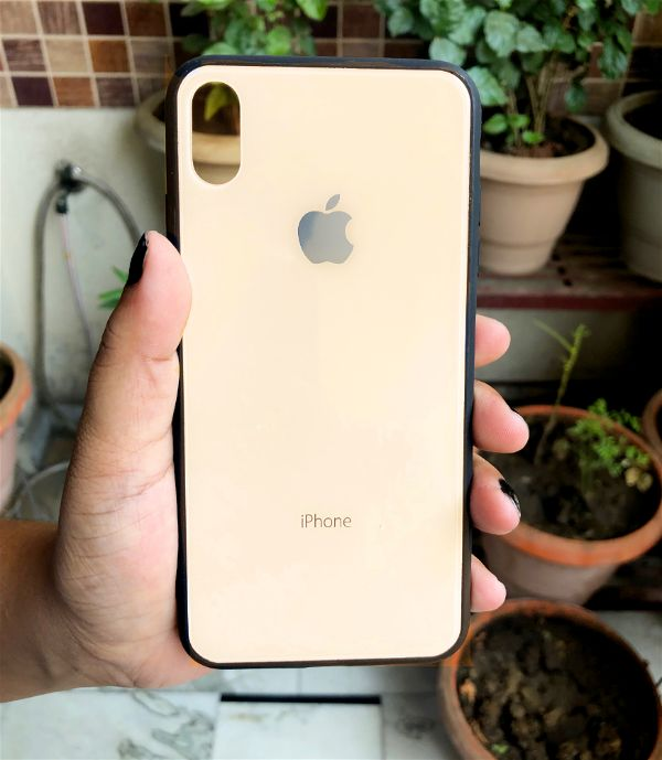 Golden mirror Silicone Case for Apple iphone Xs Max