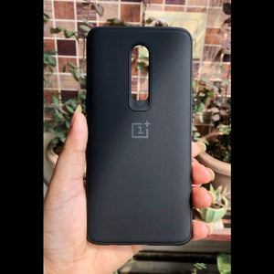 Black Silicone Case for Oneplus 6
