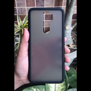Black Smoke Silicone Protection case for Redmi note 8 pro
