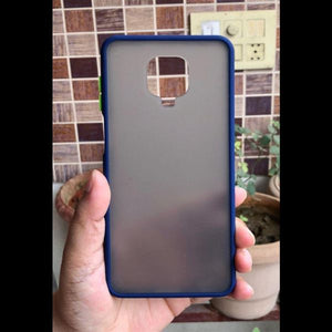 Blue Smoke Silicone Protection case for Redmi Note 9 pro Max