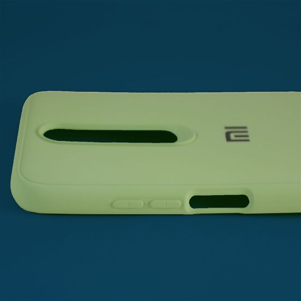 Light Green Silicone Case for Poco x2