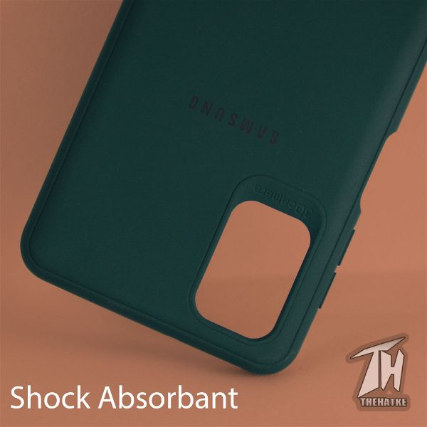 Dark Green Silicone Case for Samsung M31s