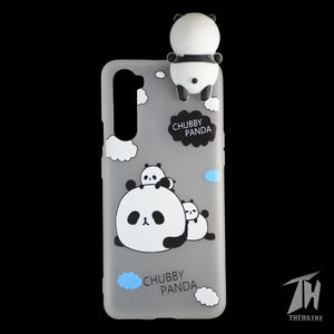 Chubby Panda 3D Silicone Case for Oneplus Nord
