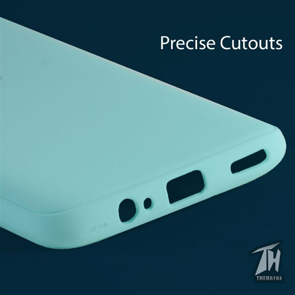 Light Blue Silicone Case for Oneplus 6
