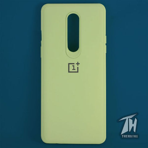 Light green Silicone Case for Oneplus 8