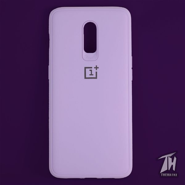 Purple Silicone Case for Oneplus 7