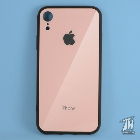 Rose gold Mirror Silicone Case for Apple iphone Xr