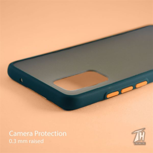 Dark Green Smoke Silicone case for Vivo V19