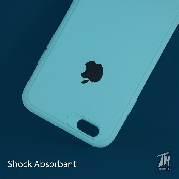 Light Blue Silicone Case for Apple iphone 7