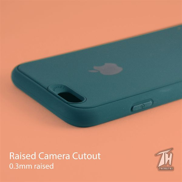 Dark Green Silicone Case for Apple iphone 6/6s