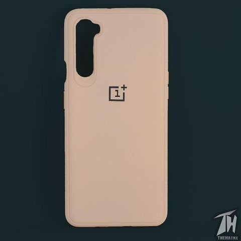 Peach Silicone case for Oneplus Nord