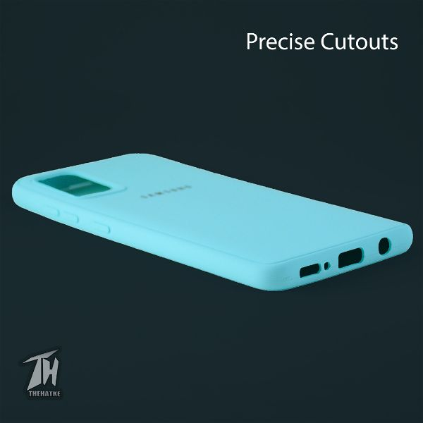 Light Blue Silicone Case for Samsung A51