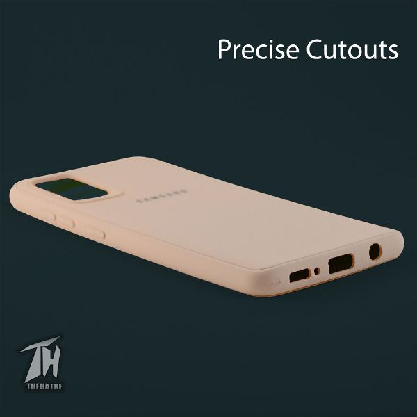Peach Silicone Case for Samsung A51