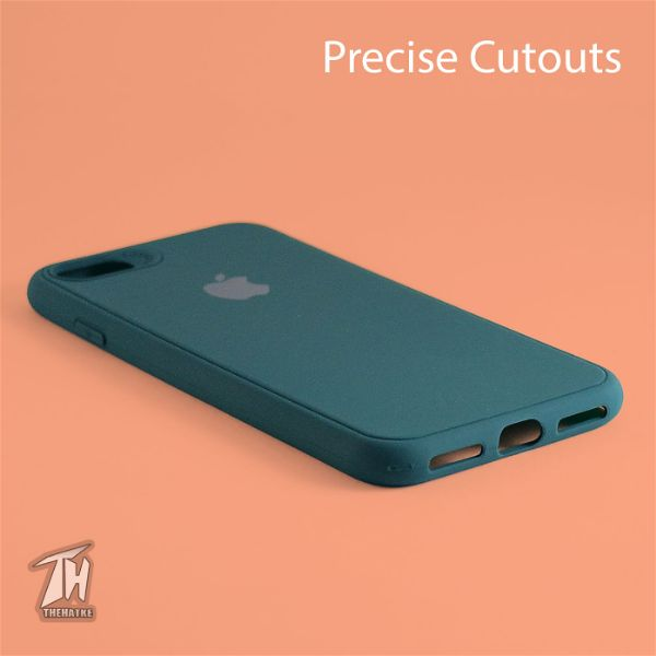 Dark Green Silicone Case for Apple iphone 7